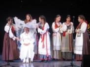 В Ульяновске состоялся Всероссийский фестиваль-конкурс русских свадебных обрядов «Свадьба в Обломовке»