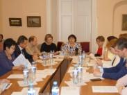 В ГРДНТ им. В.Д. Поленова прошел круглый стол «Совершенствование государственной системы доступа населения к культурным ценностям»