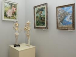 Выставка-конкурс декоративно-прикладного творчества открылась в Лобне
