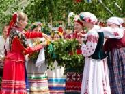 XX Международный фольклорный праздник «Троицкие хороводы состоялся в Орловском Полесье»